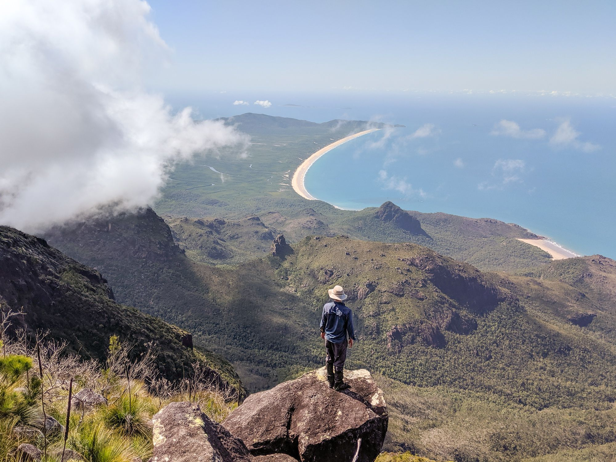 Views from Bowen Massif
