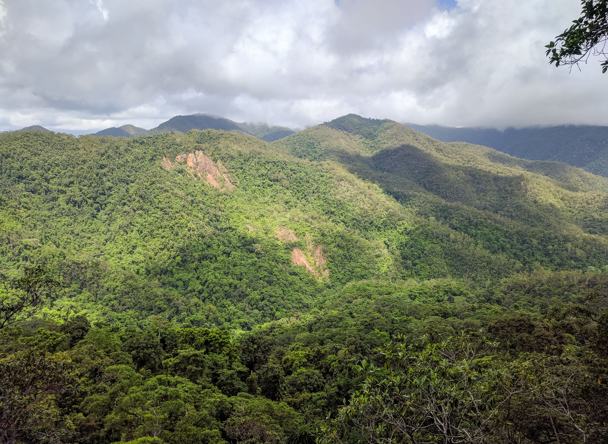 View from Circle View Mountain, Paluma Range National Park