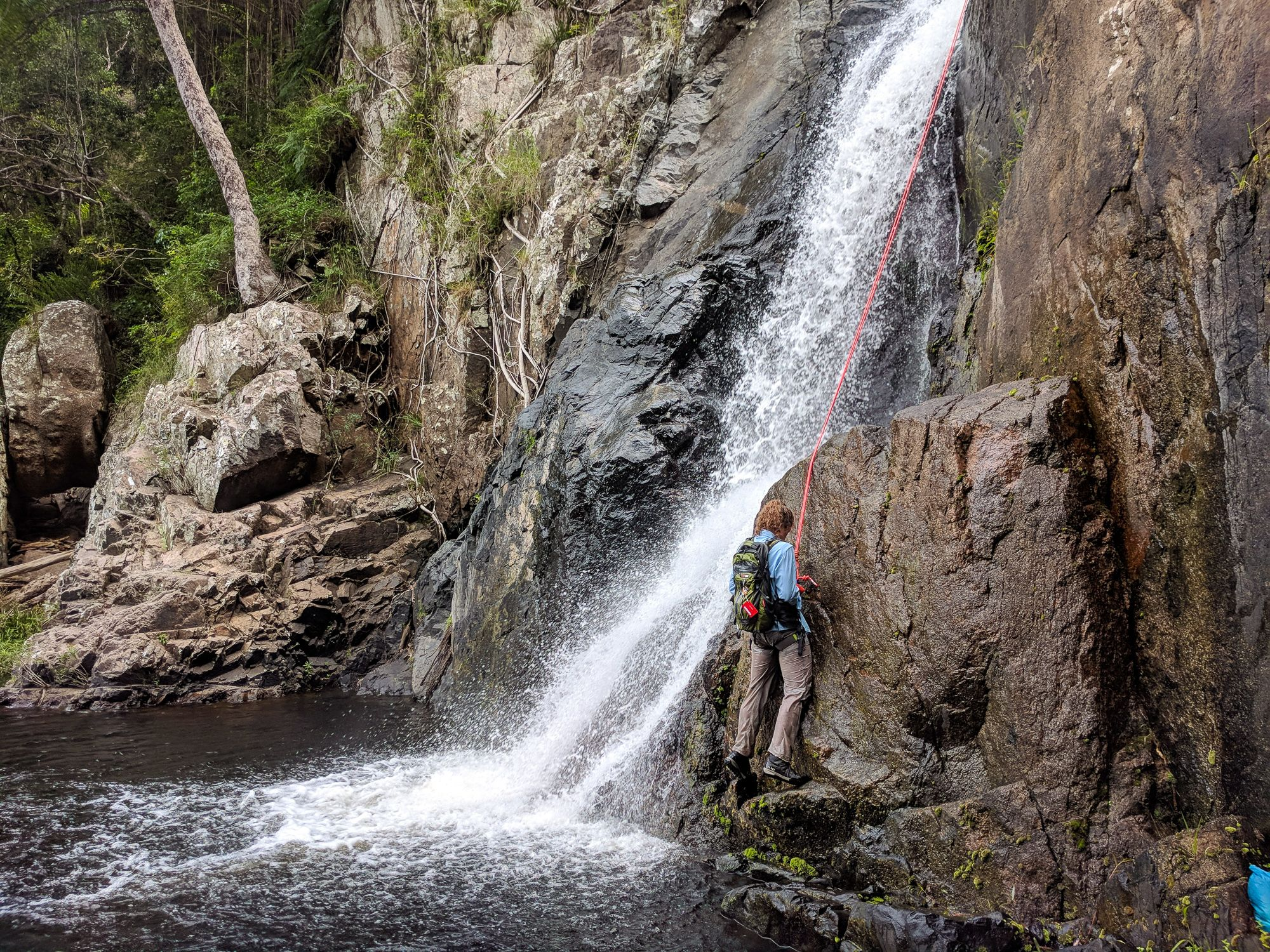 rappel two waterview creek