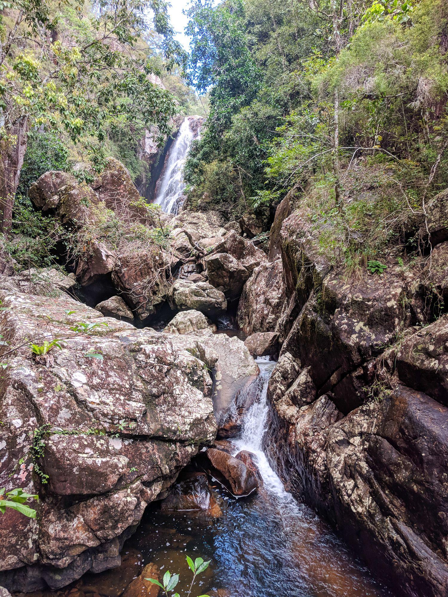 small ollera falls paluma