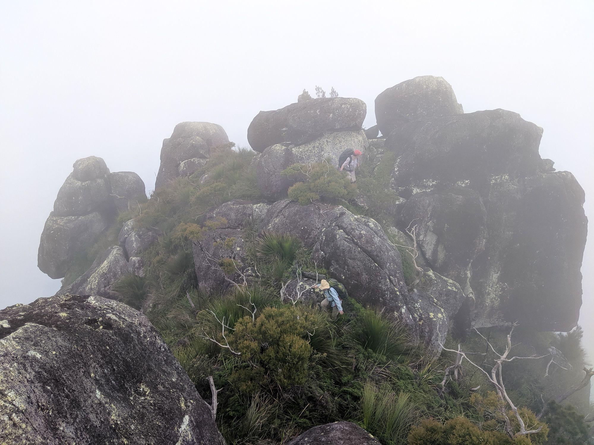 south peak mist bowen massif