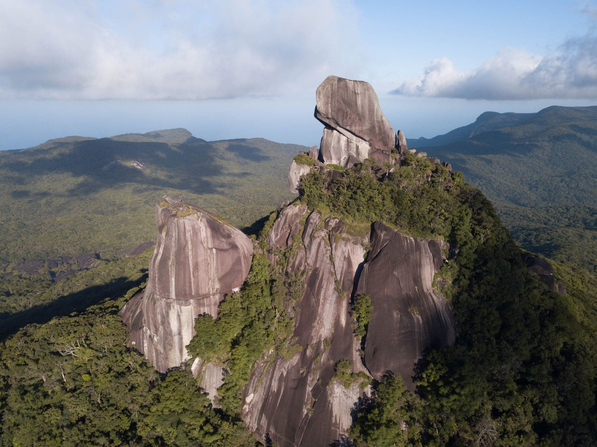 Mt Pieter Botte peaks