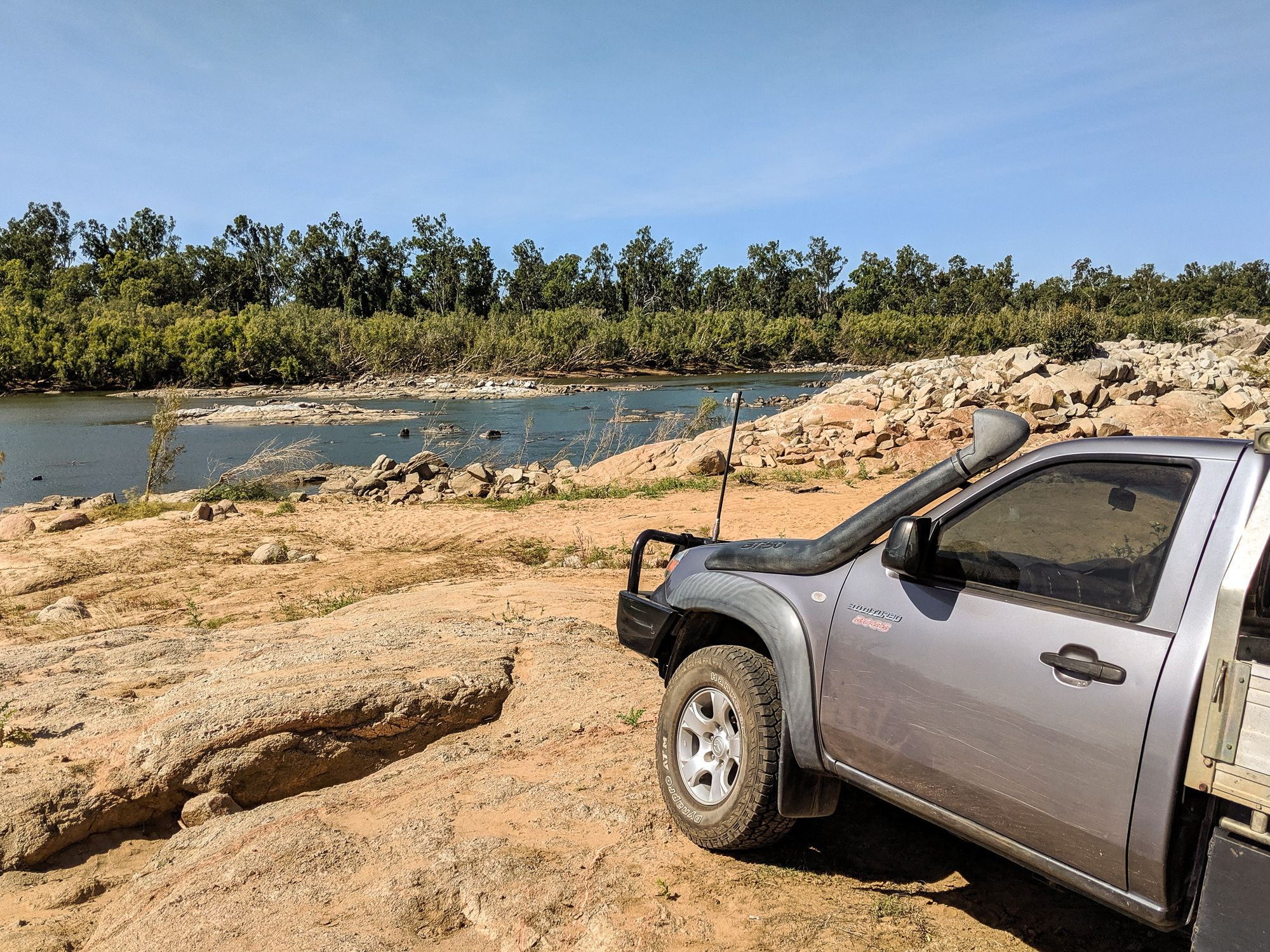 flat rock charters towers 4wd