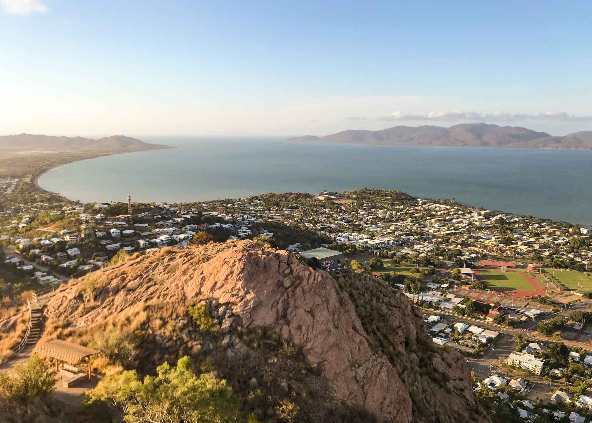 Castle Hill and Townsville City