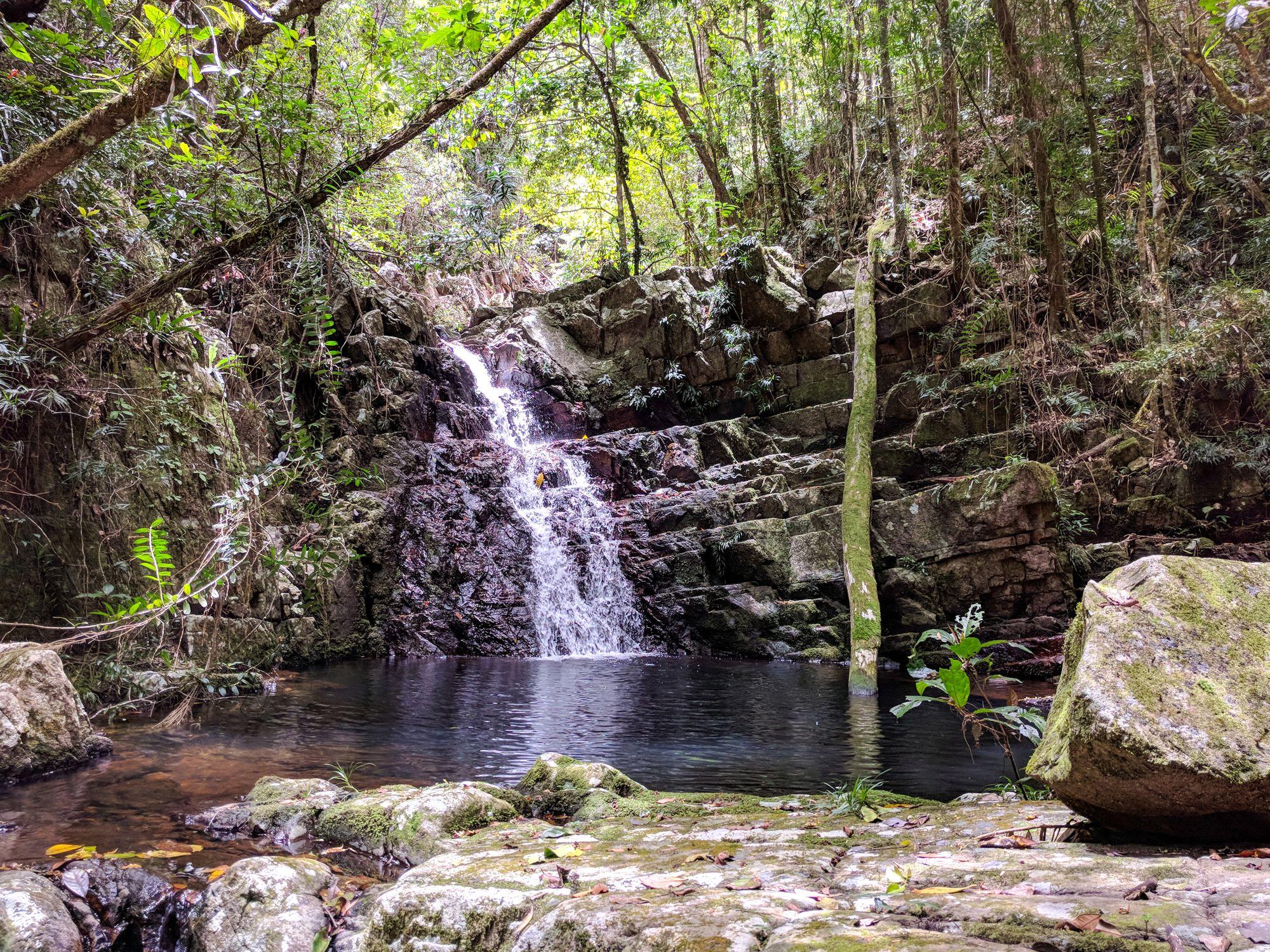 triple falls paluma range national park