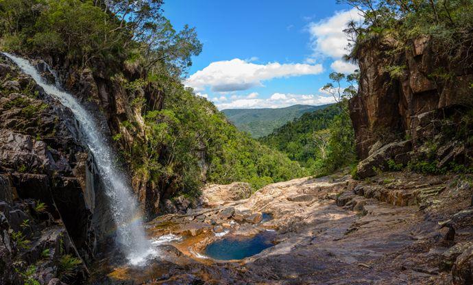 Crystal Creek Falls Keith Dyson