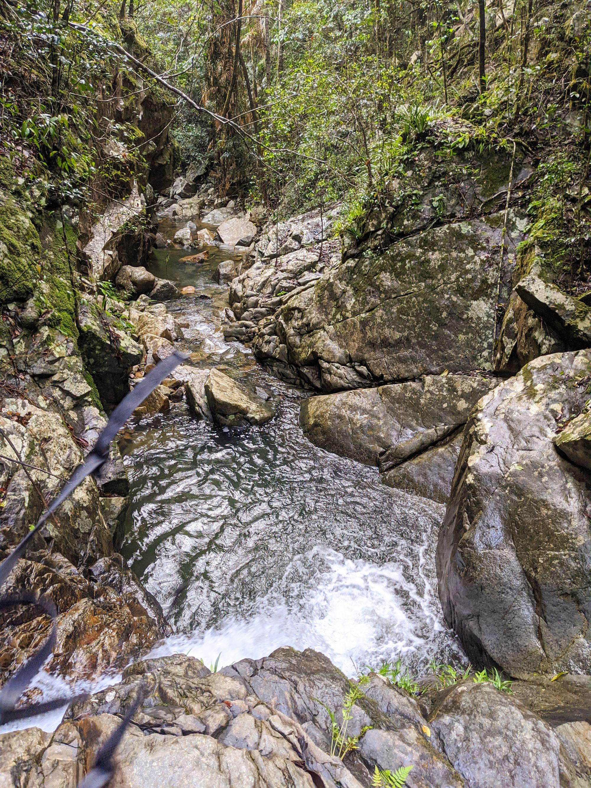 Mobile Creek drop