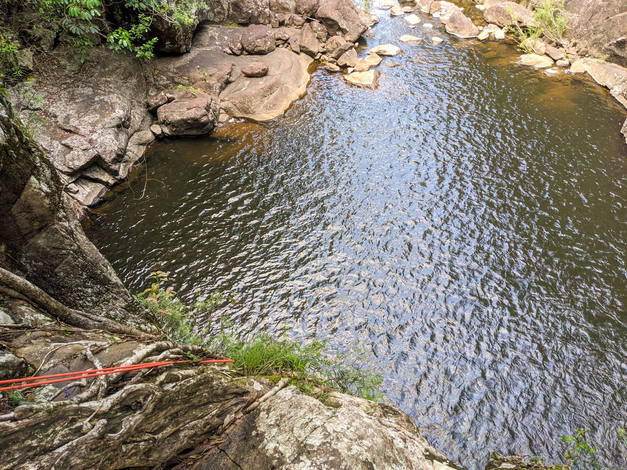 Tinkle Creek rappel 8 pool