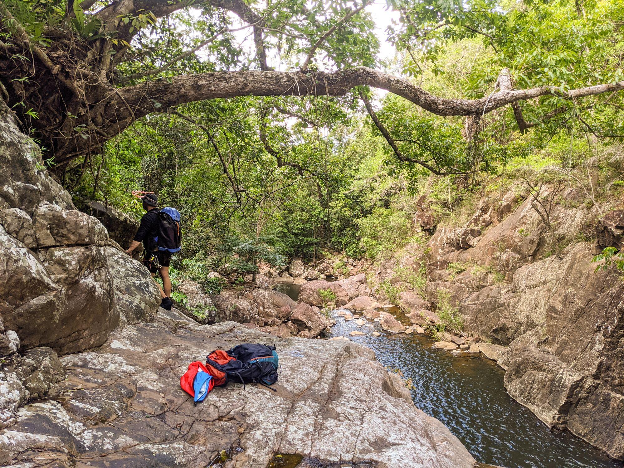 Tinkle Creek rappel 8