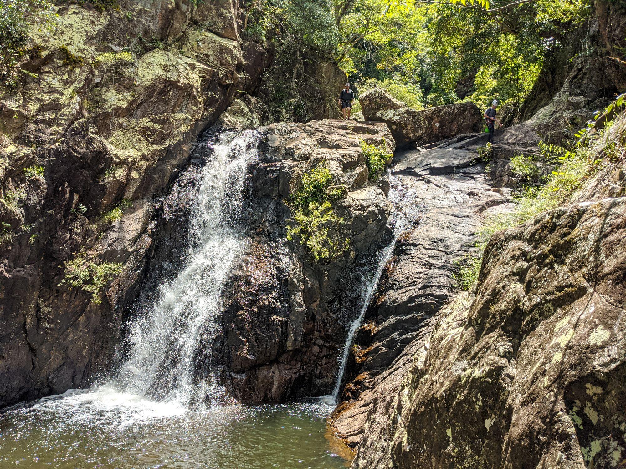 Tinkle Creek scramble