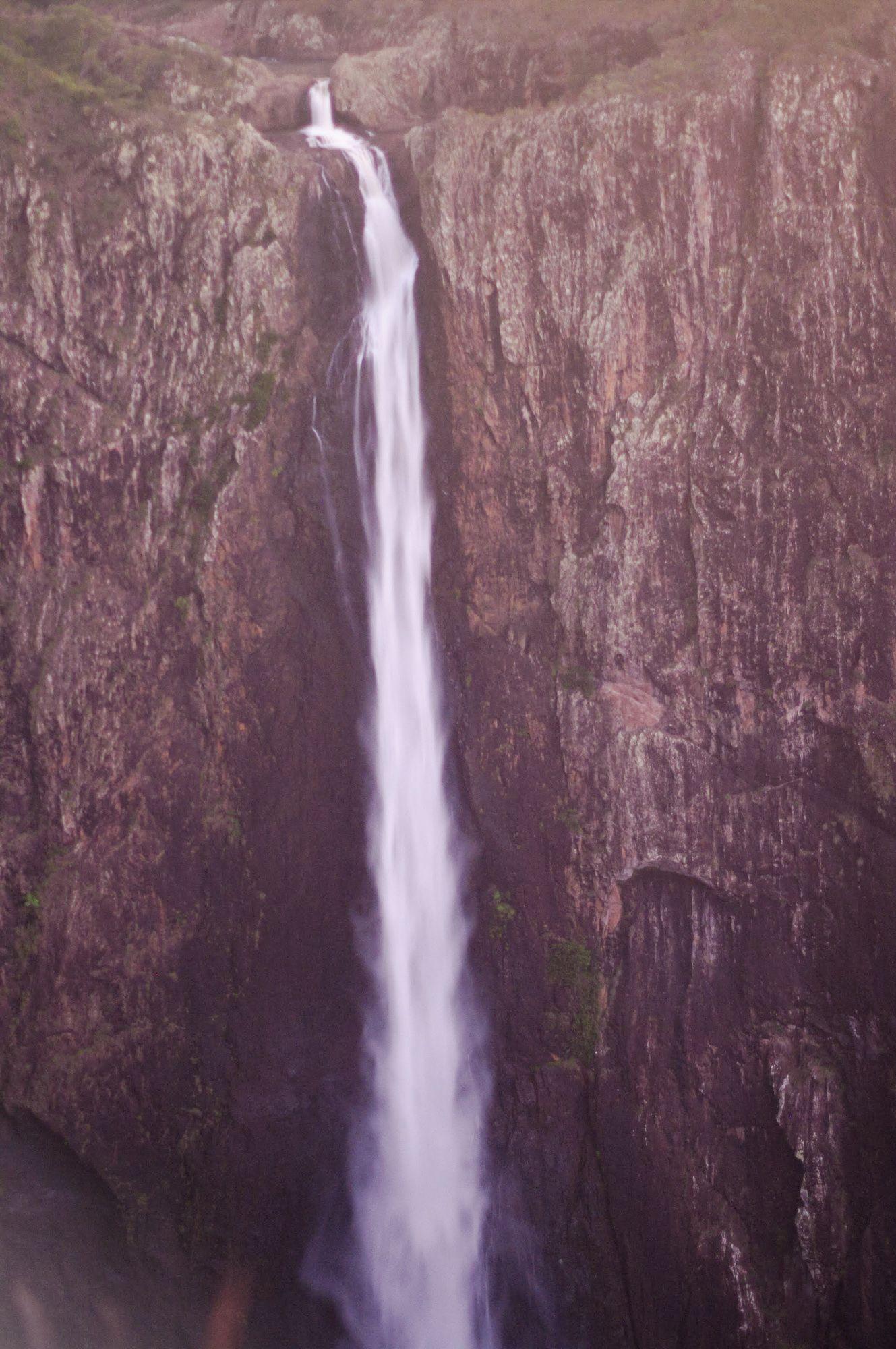 Wallaman Falls flow