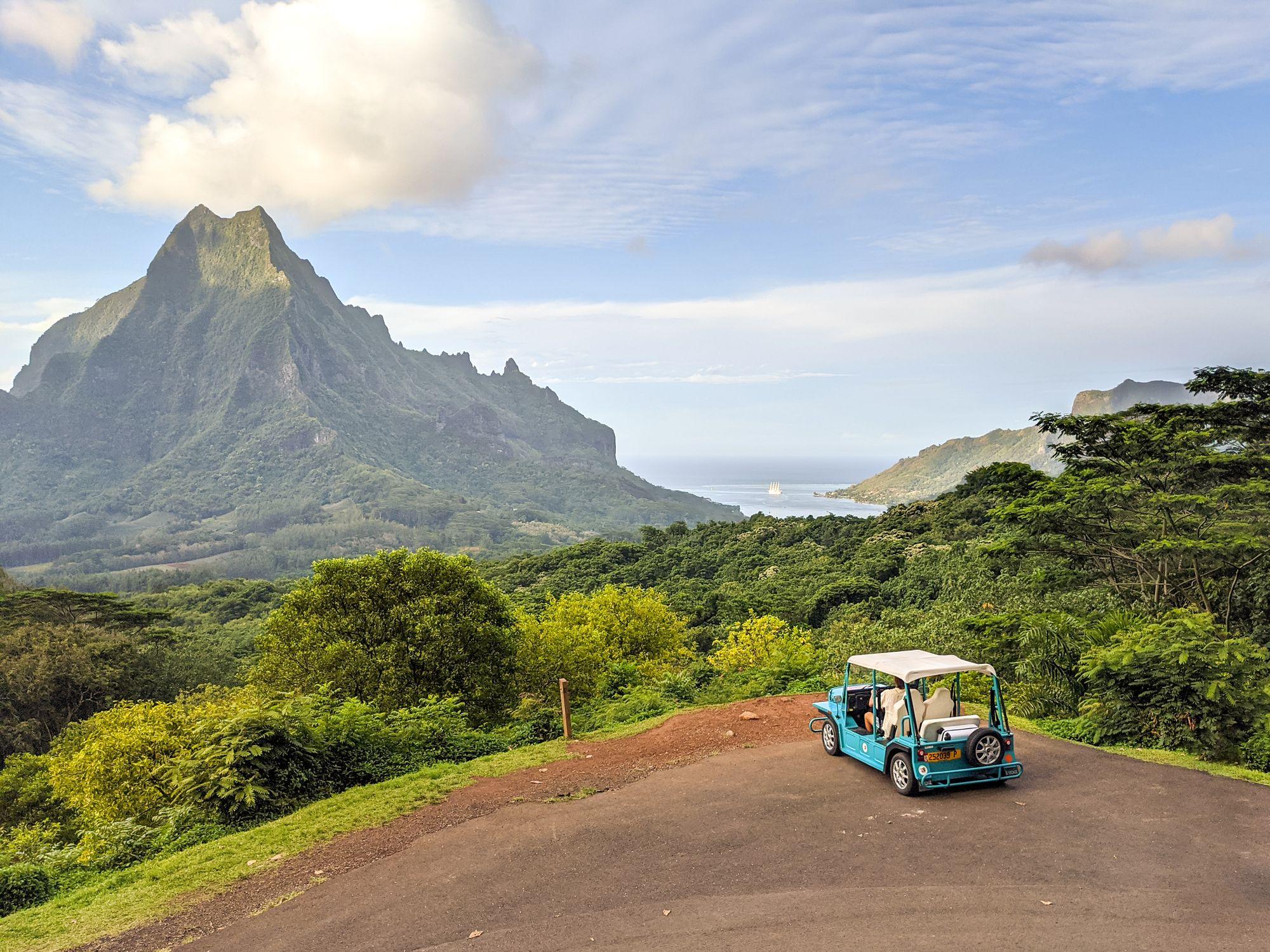 belvedere moorea french polynesia