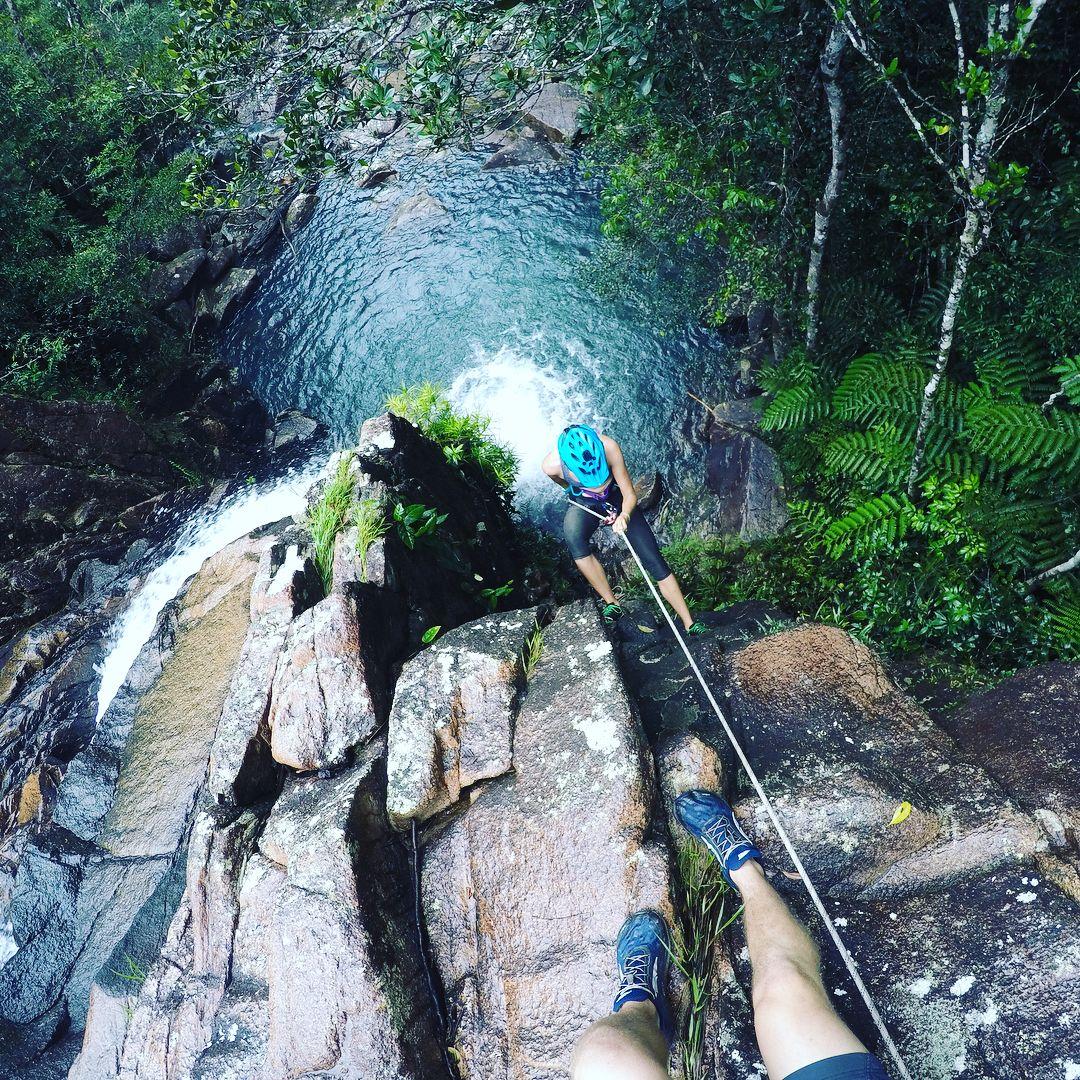 Abseiling Ethel Falls