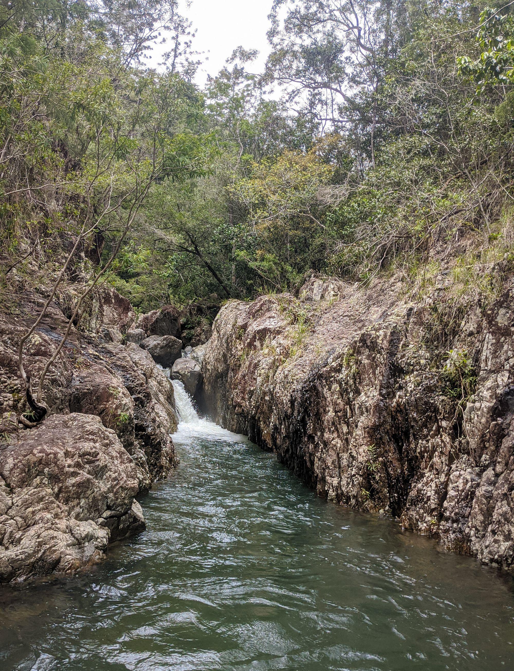 gorge small falls