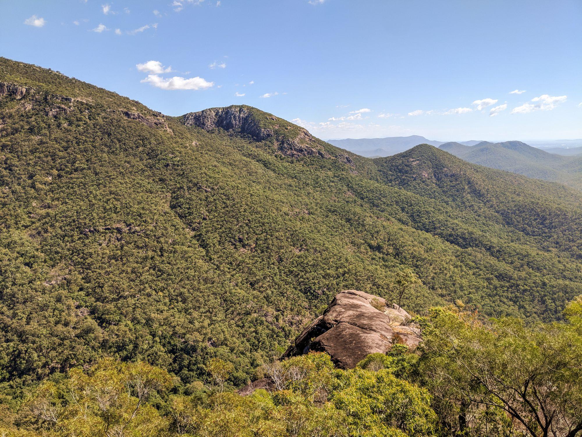 joy s cliff rocky outcrop