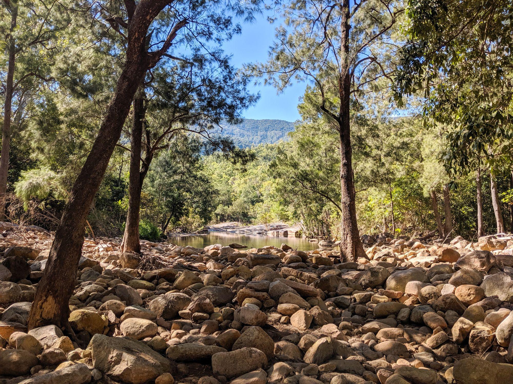 major creek bowling green bay national park