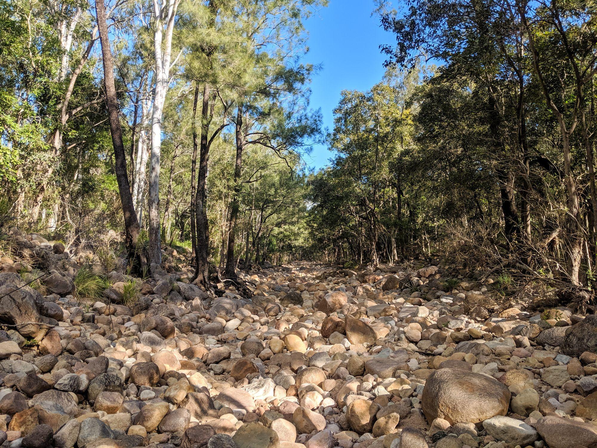 major creek rocks
