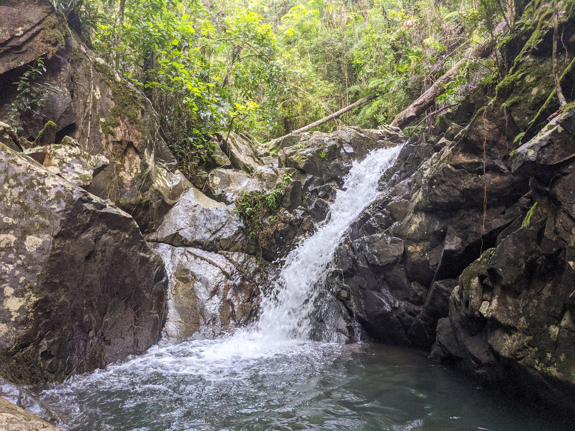 mobile creek pool falls