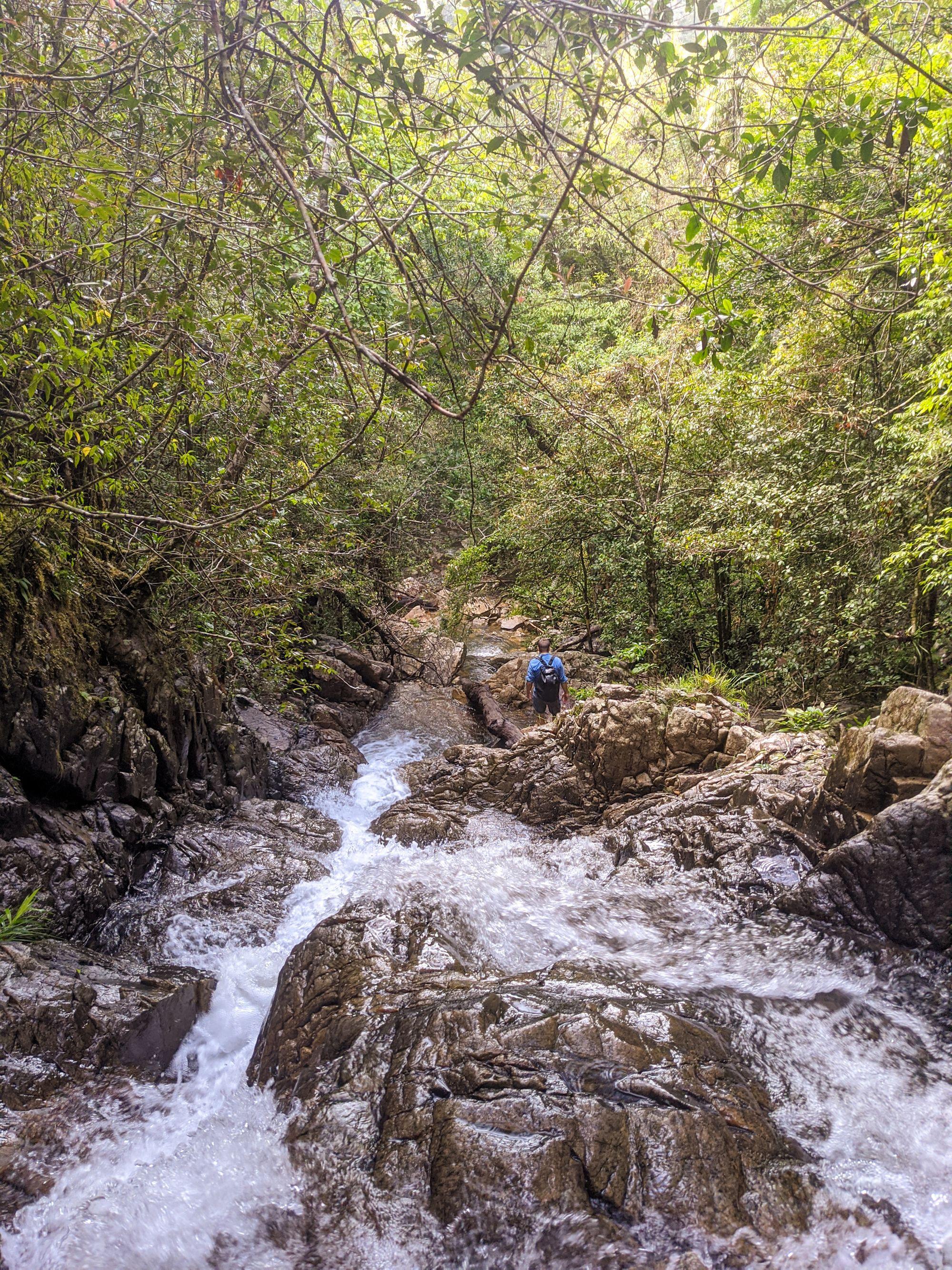 mobile creek rock slides