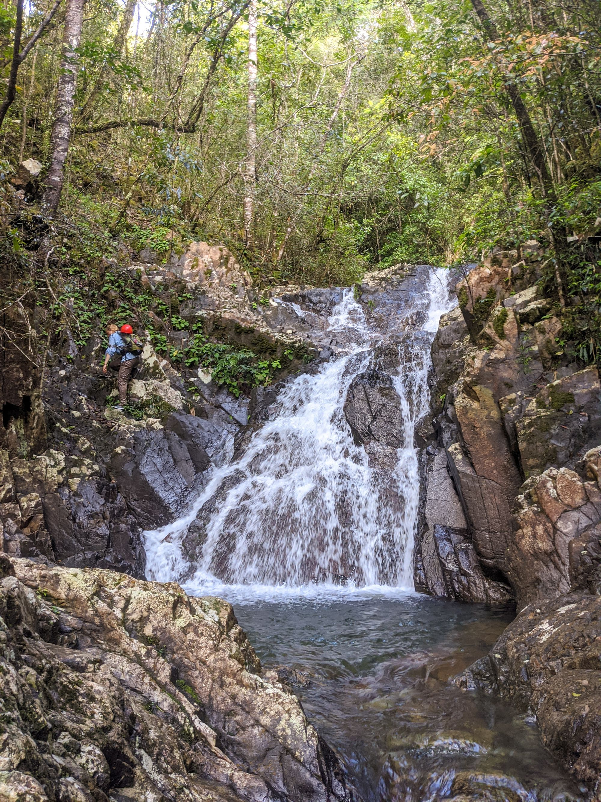 mobile creek small falls