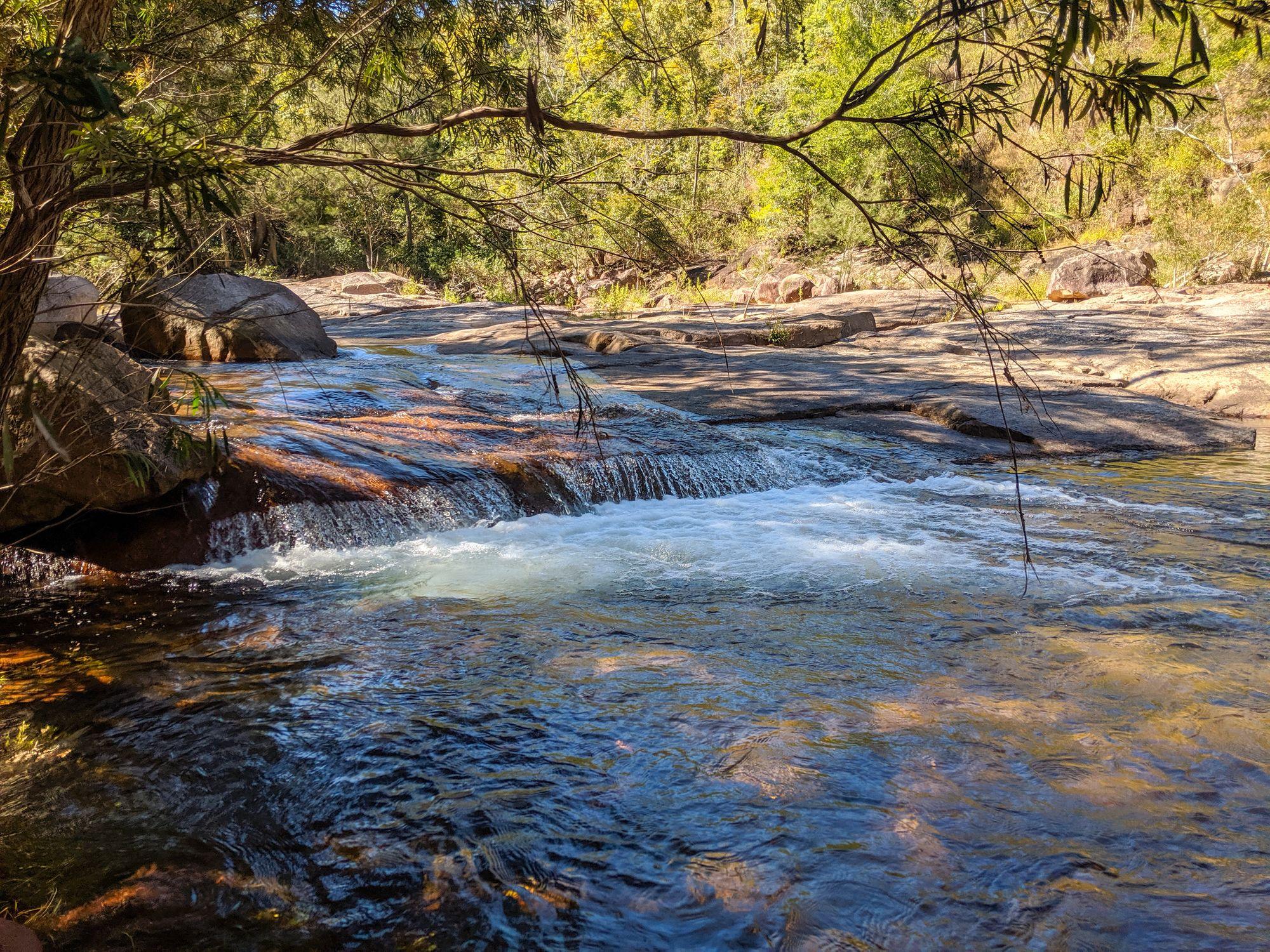 small rapids major creek