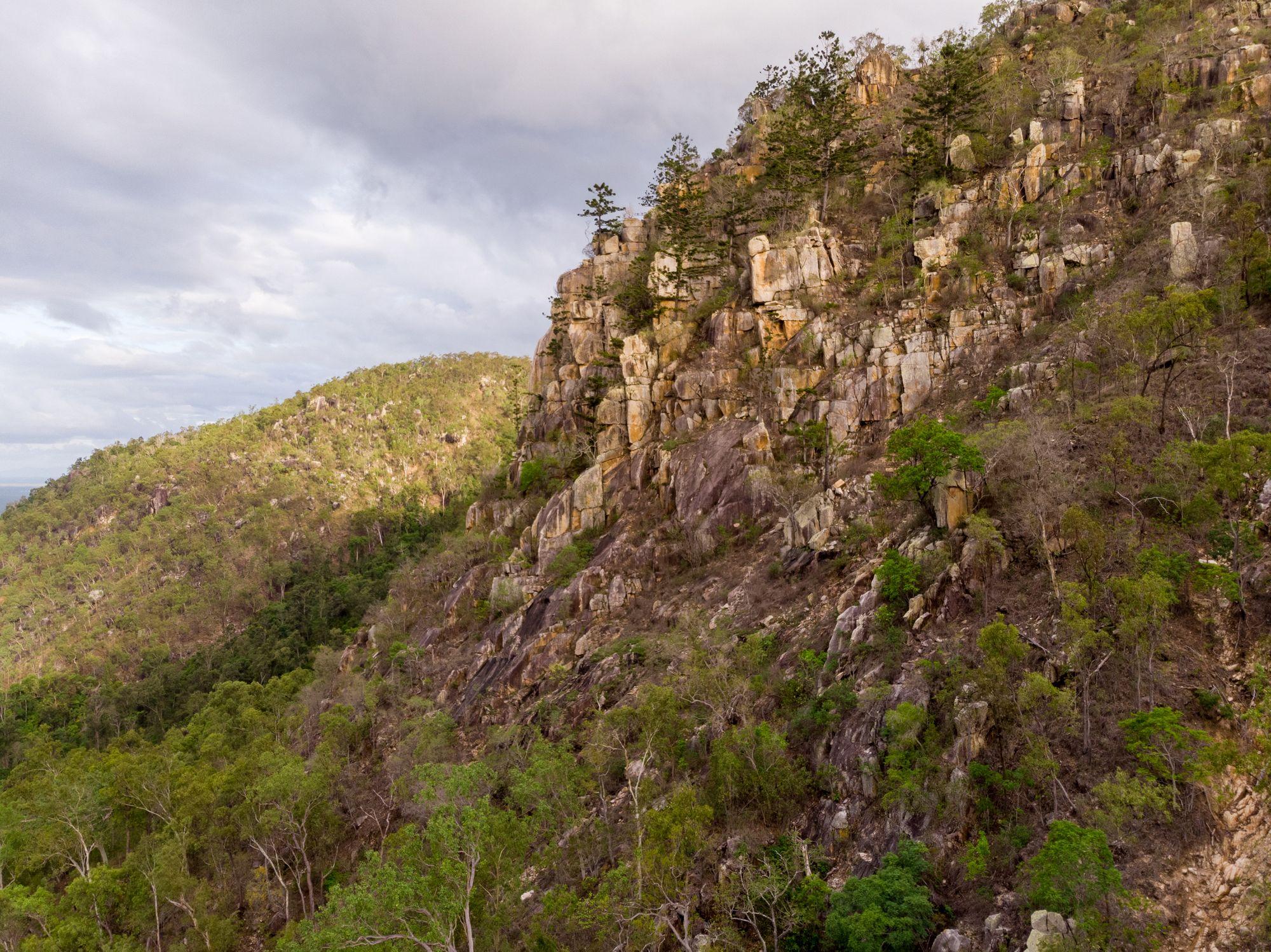 the outcrop hervey range