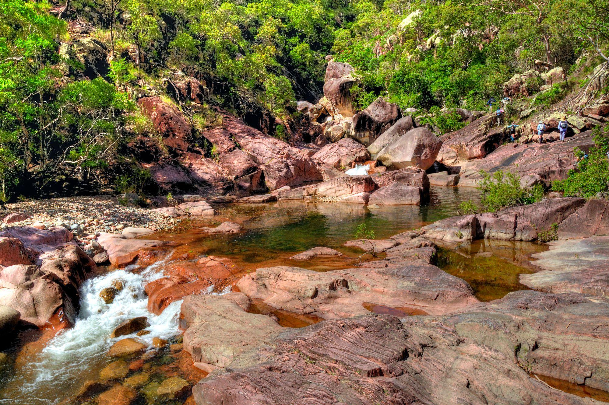 Leichhardt Creek hike
