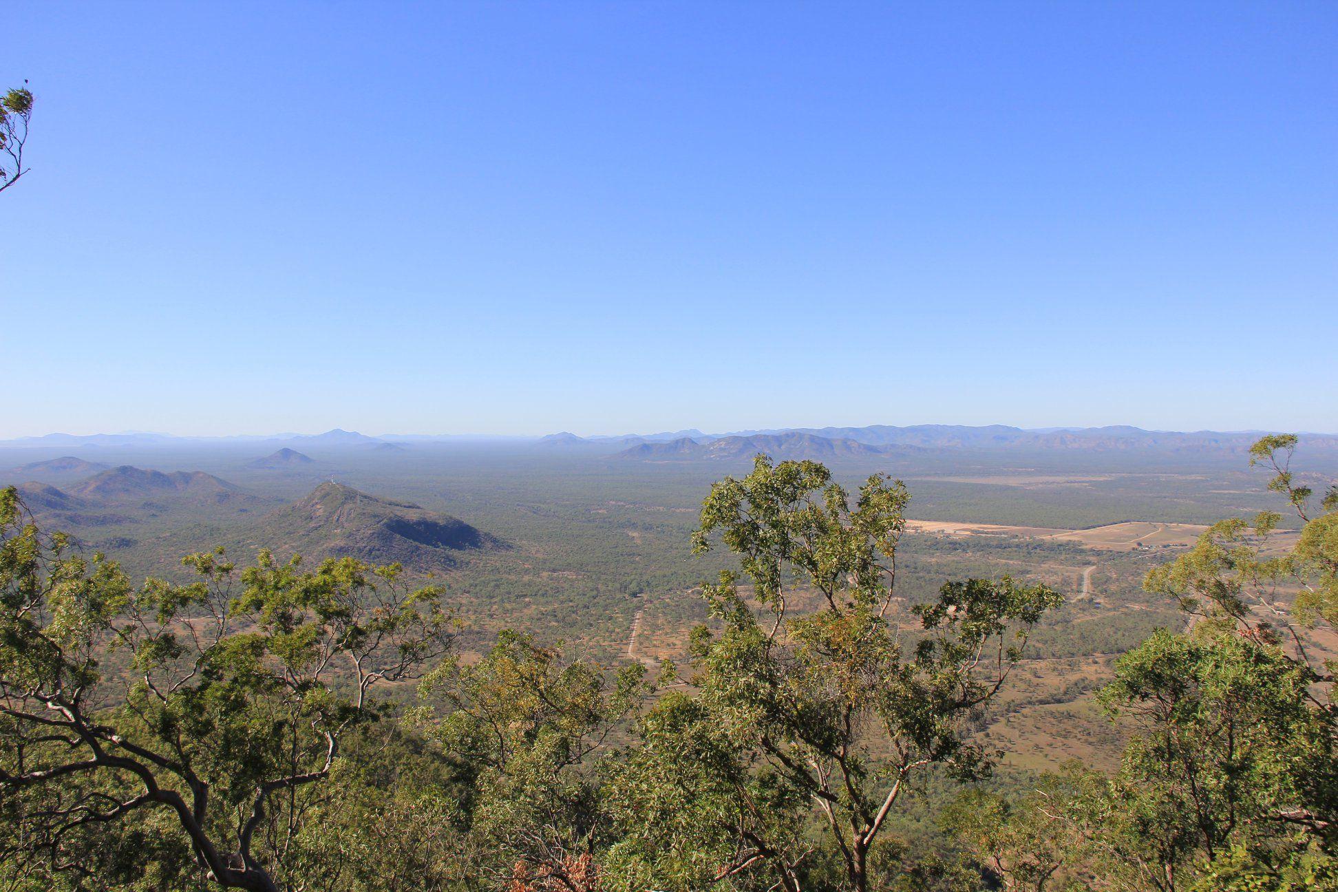 Mingela State Forest views