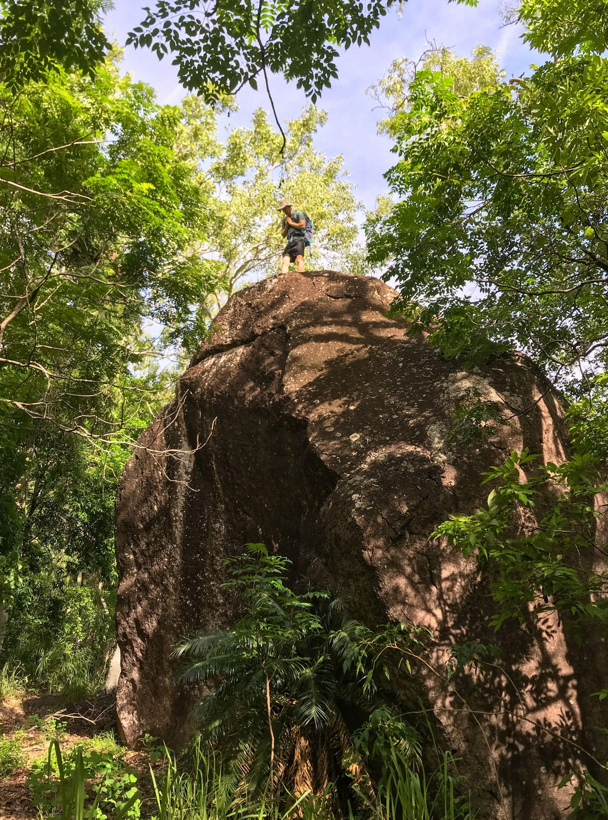 black rock plam creek boulder