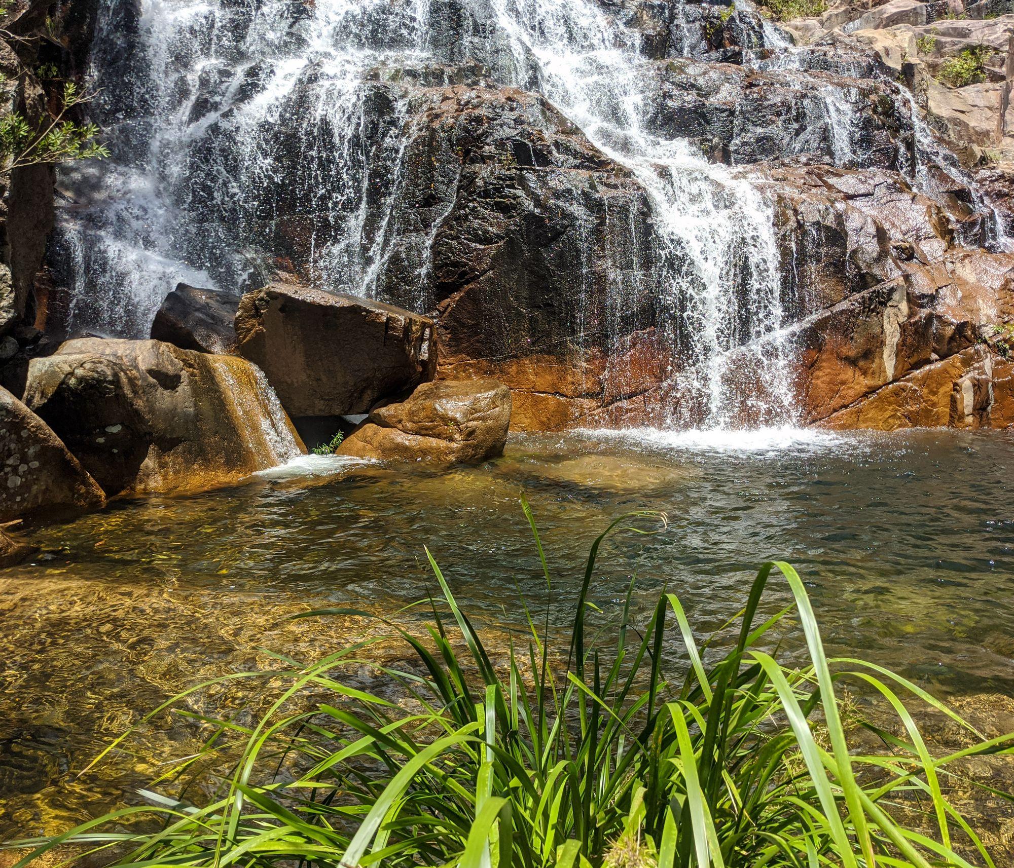 bottom of the cascades