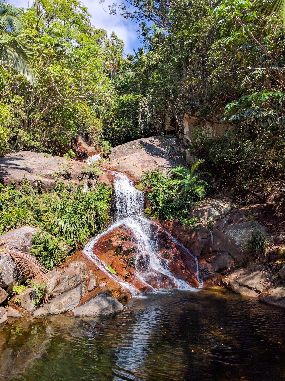 cascades creek pool falls