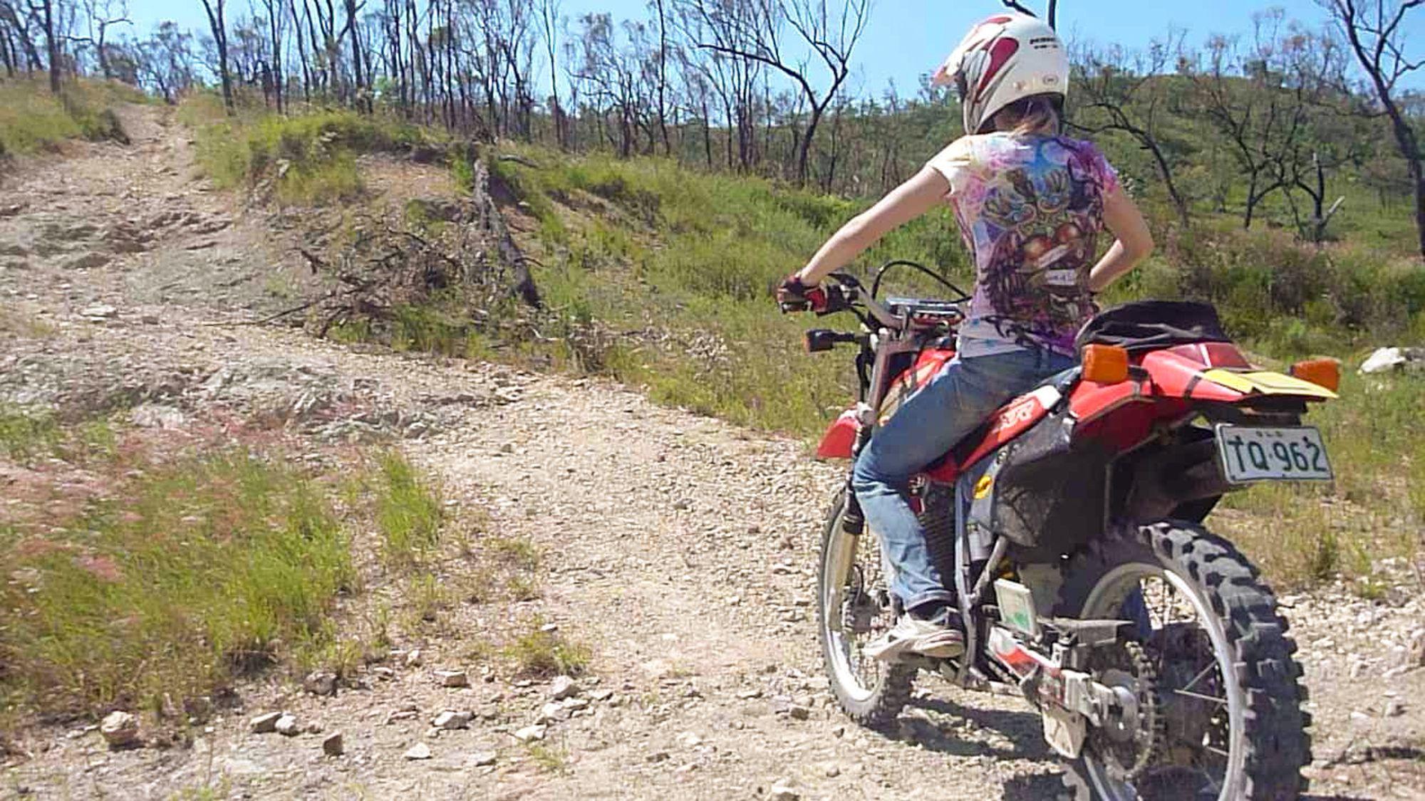 dirt bike mount louisa