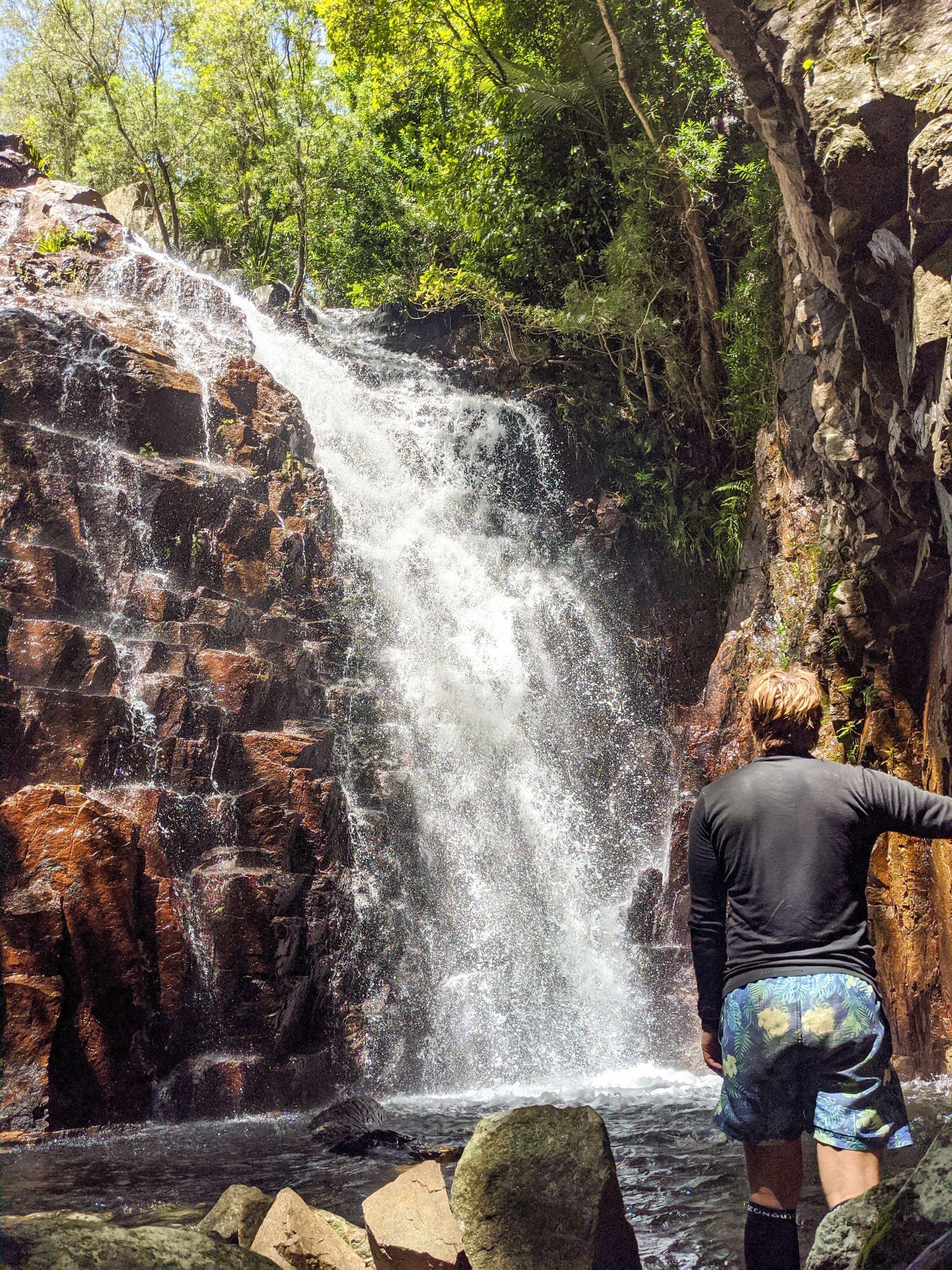first waterfalls the cascades sean sullivan