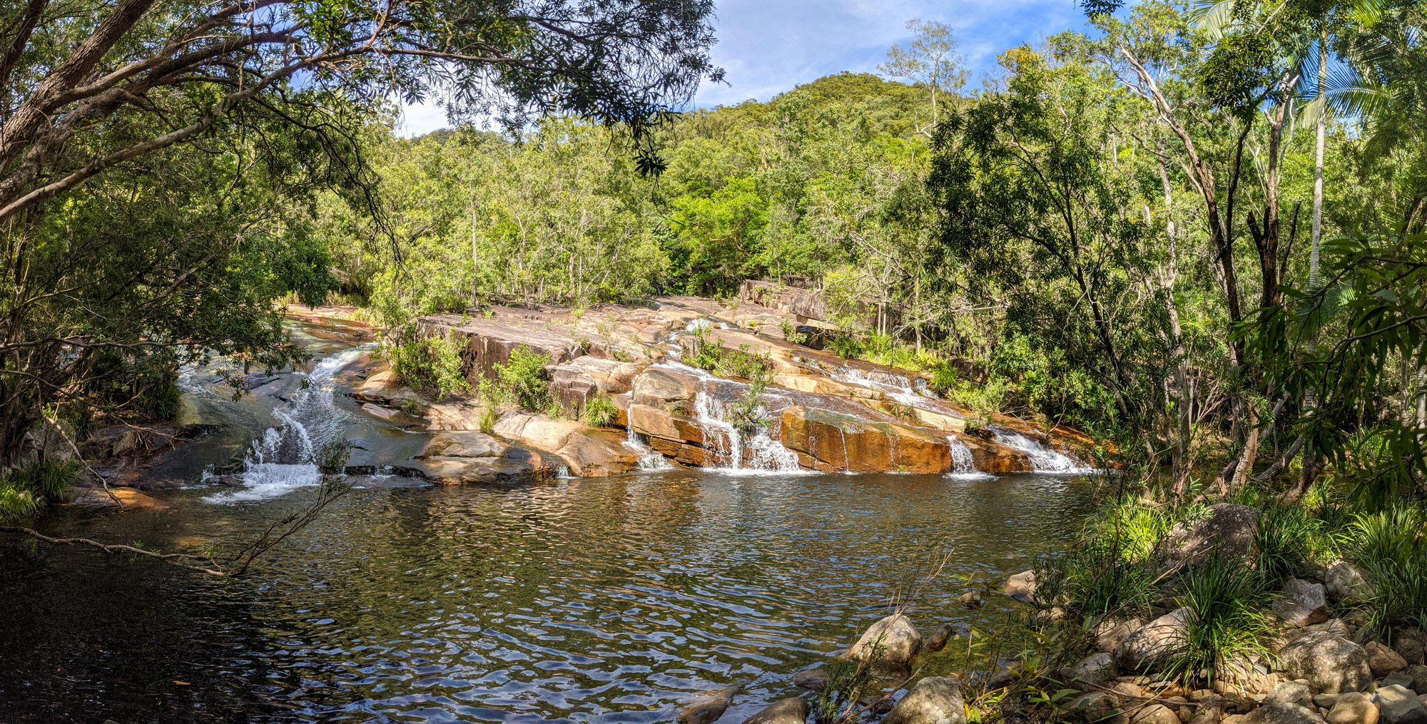 plam creek rockslides pool