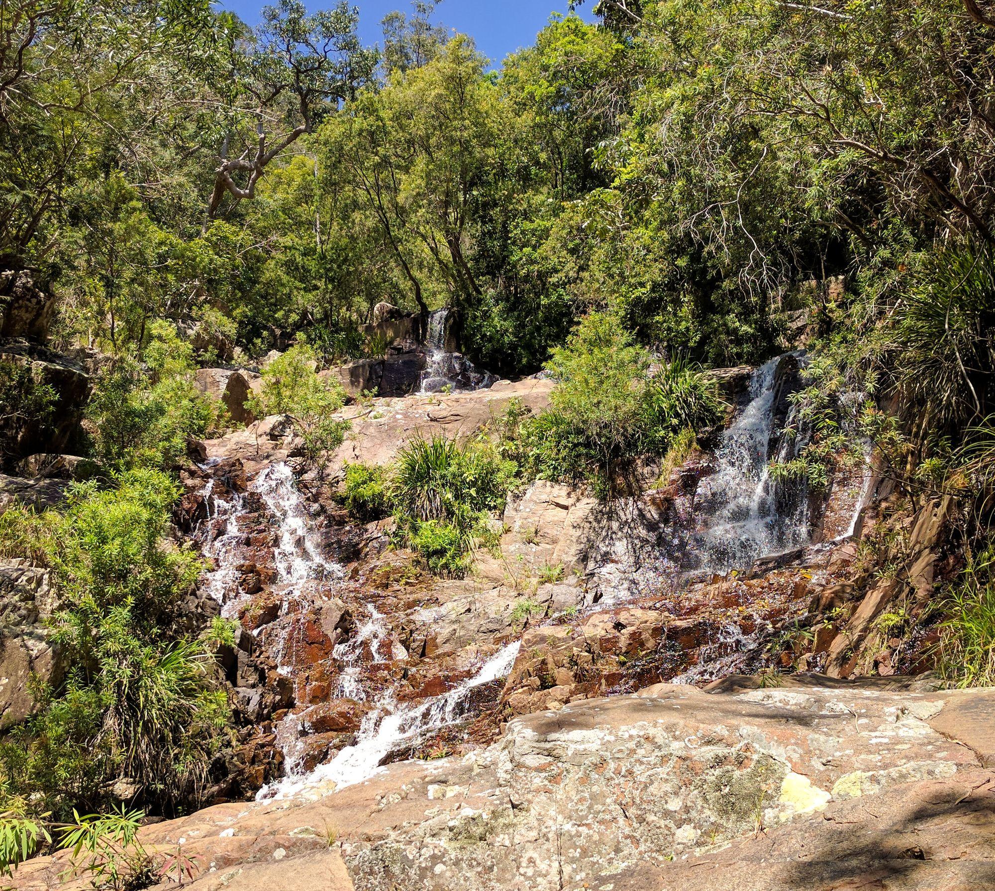 second set of waterfalls