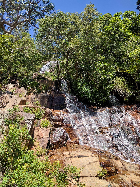 second waterfall scramble cascades