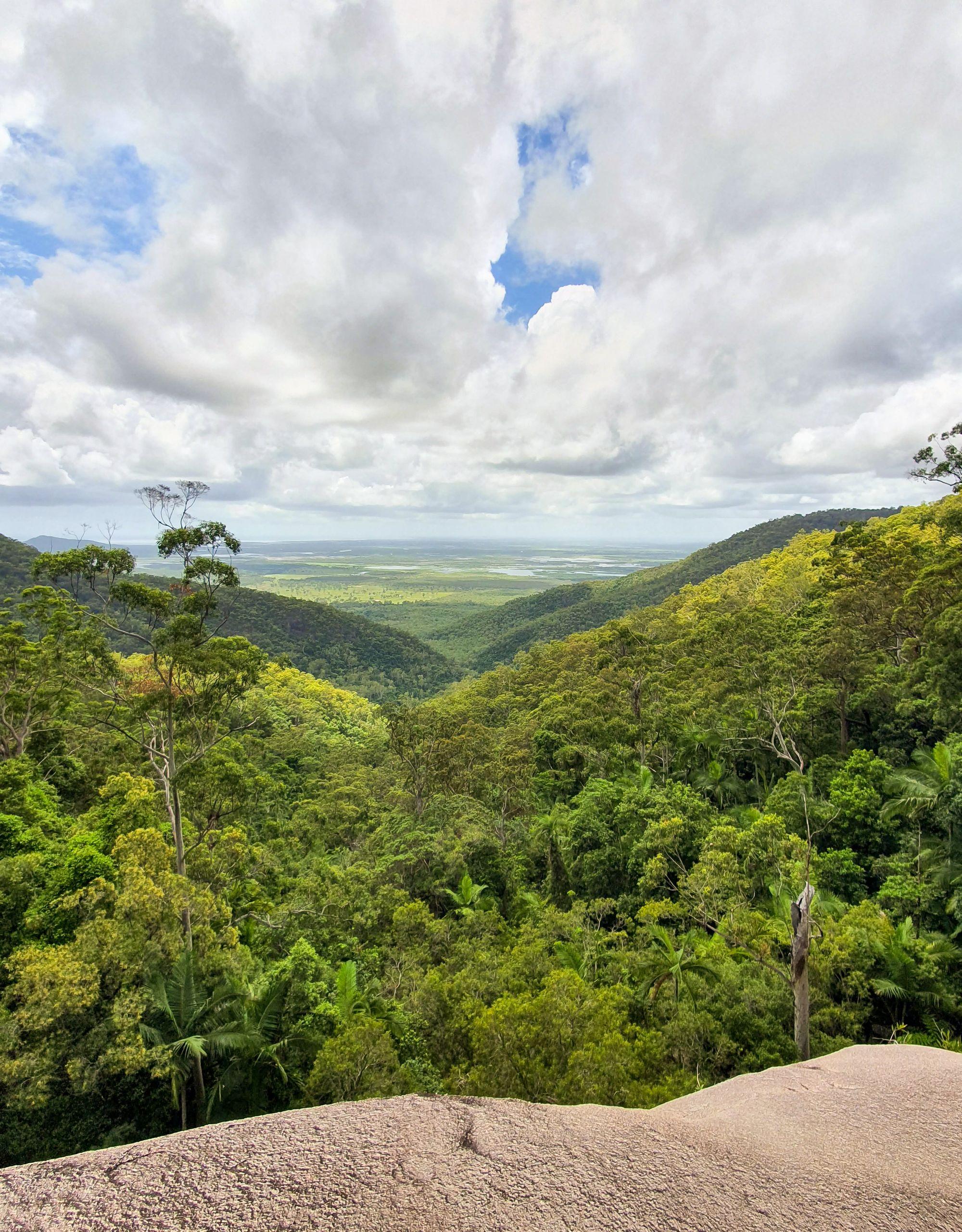 terraces high camp views