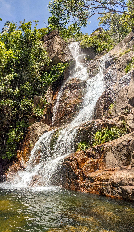 top of cascades falls