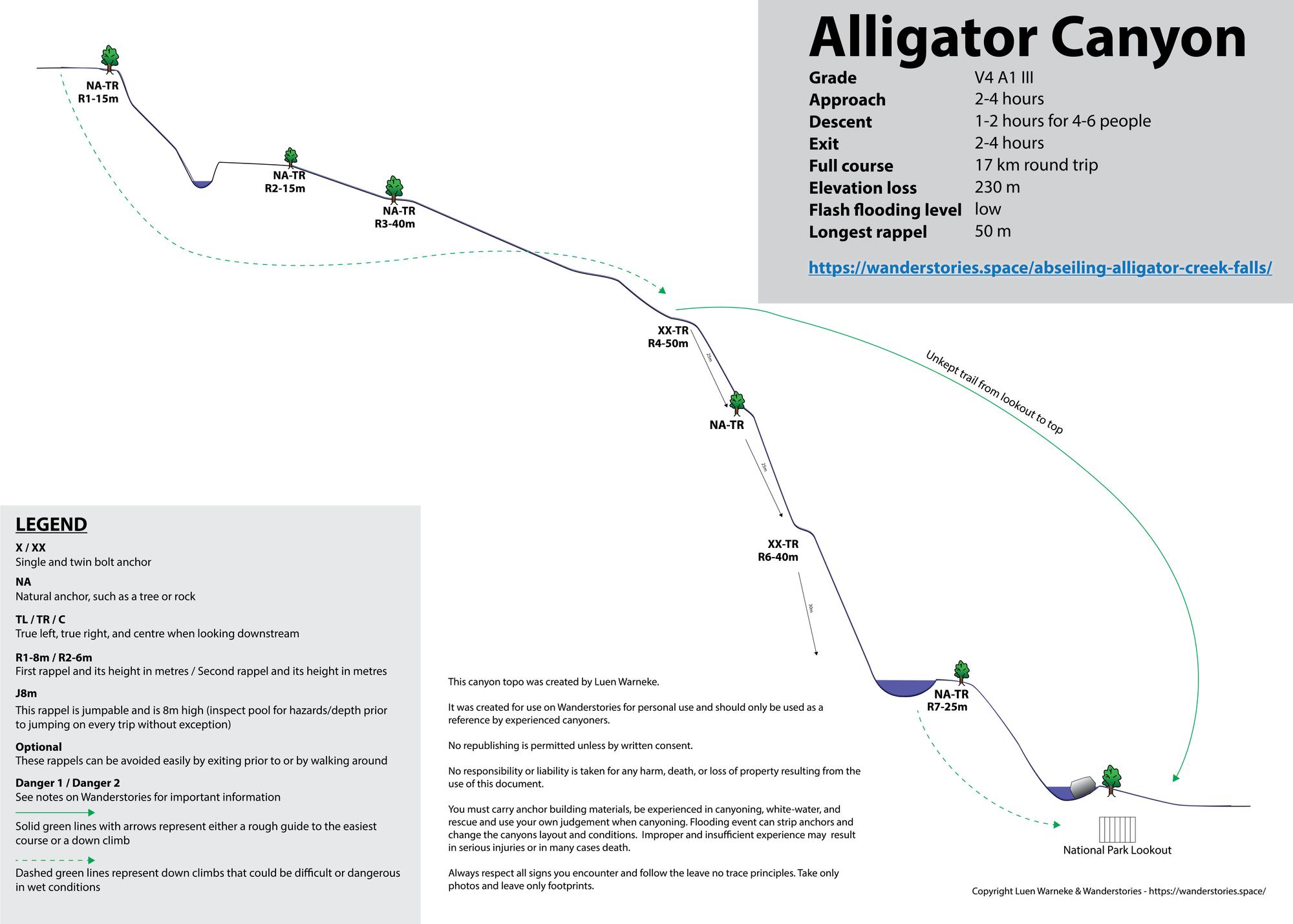 Alligator Canyon Topo 01 1