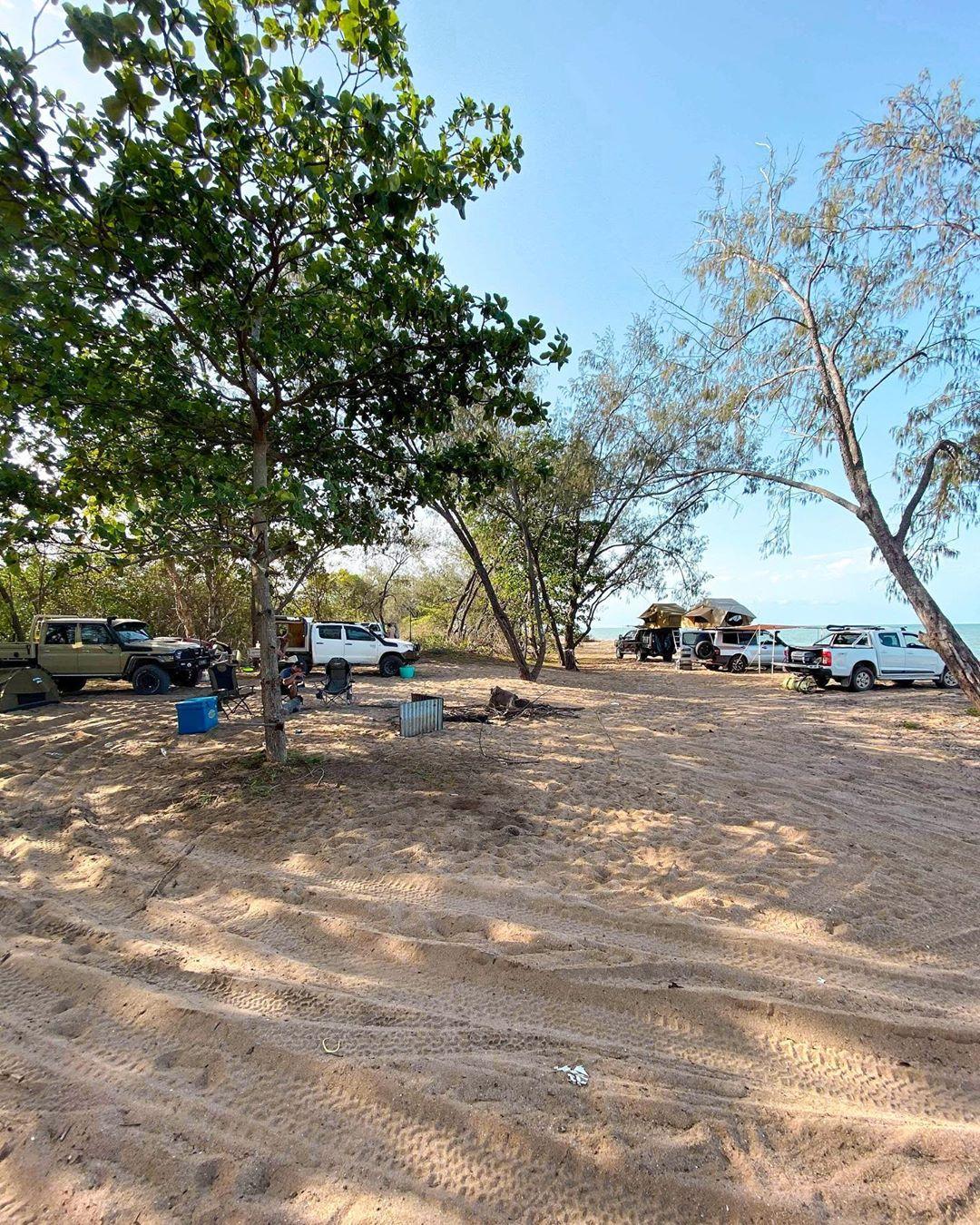 Toomulla Beach picnic 1