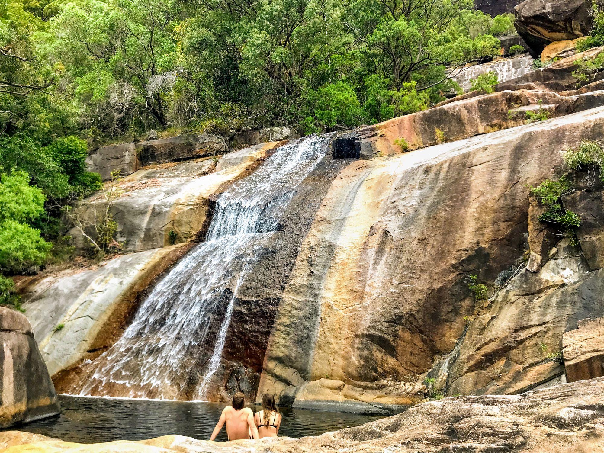 alligator creek falls swimming sean sullivan shannon tapper