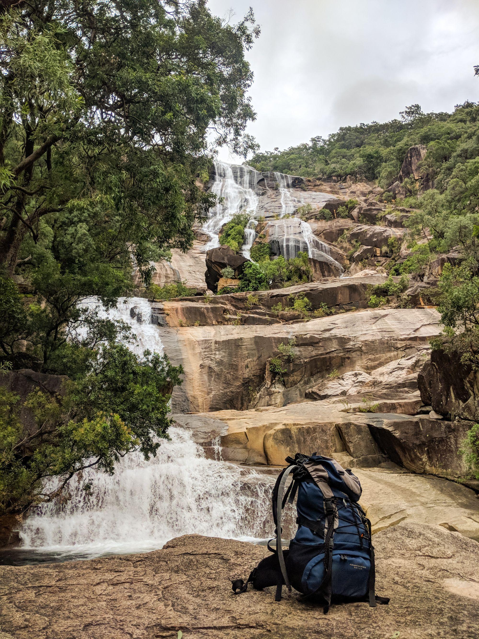 canyoning alligator creek falls