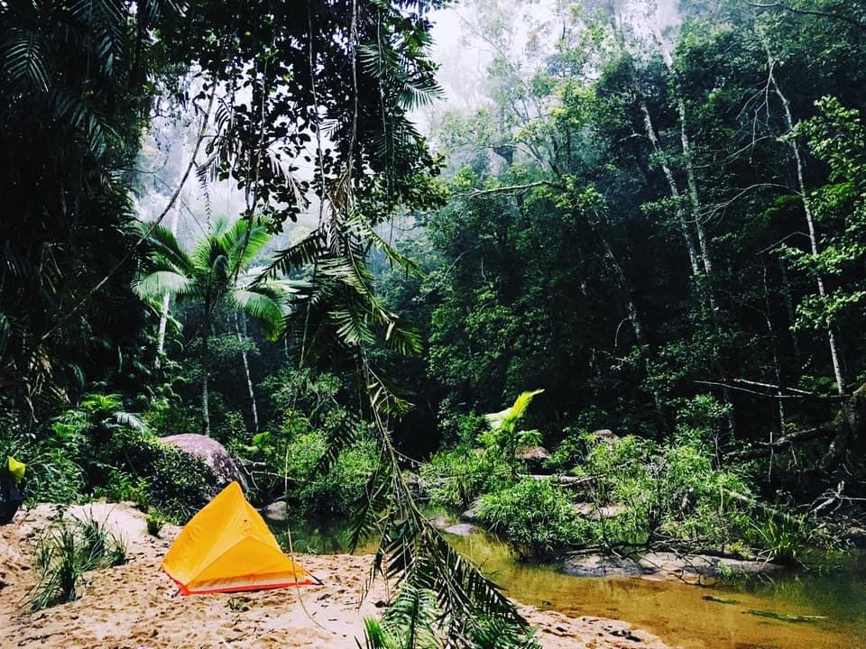 Camping in Raspberry Creek