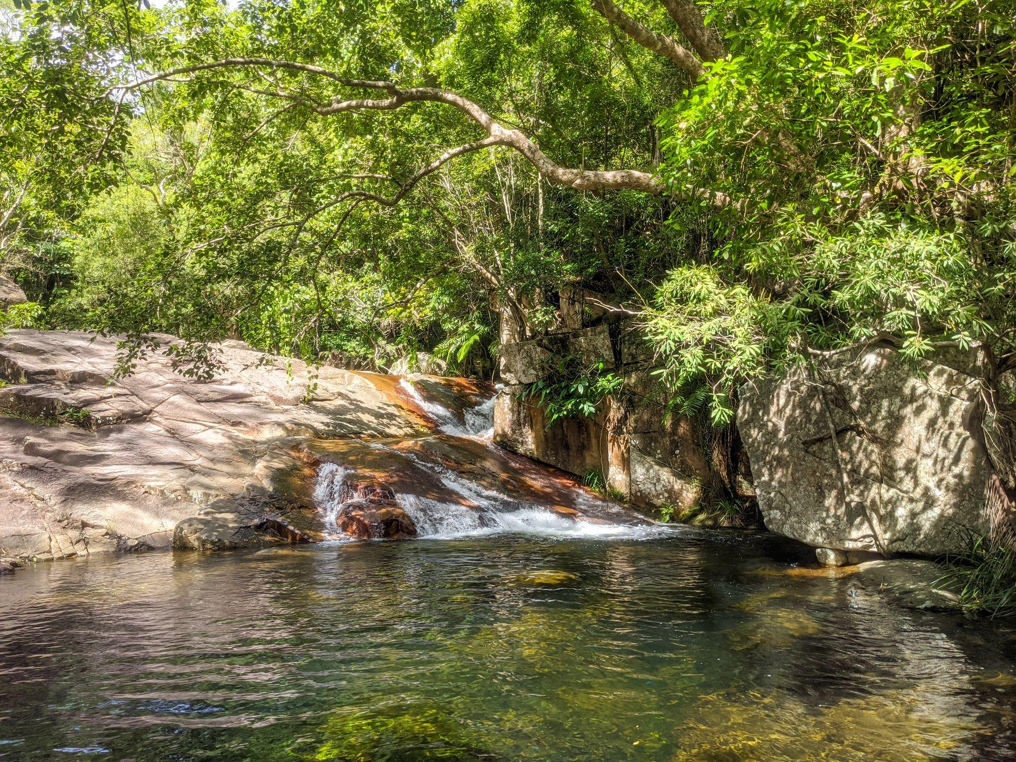 st margaret creek slides pool