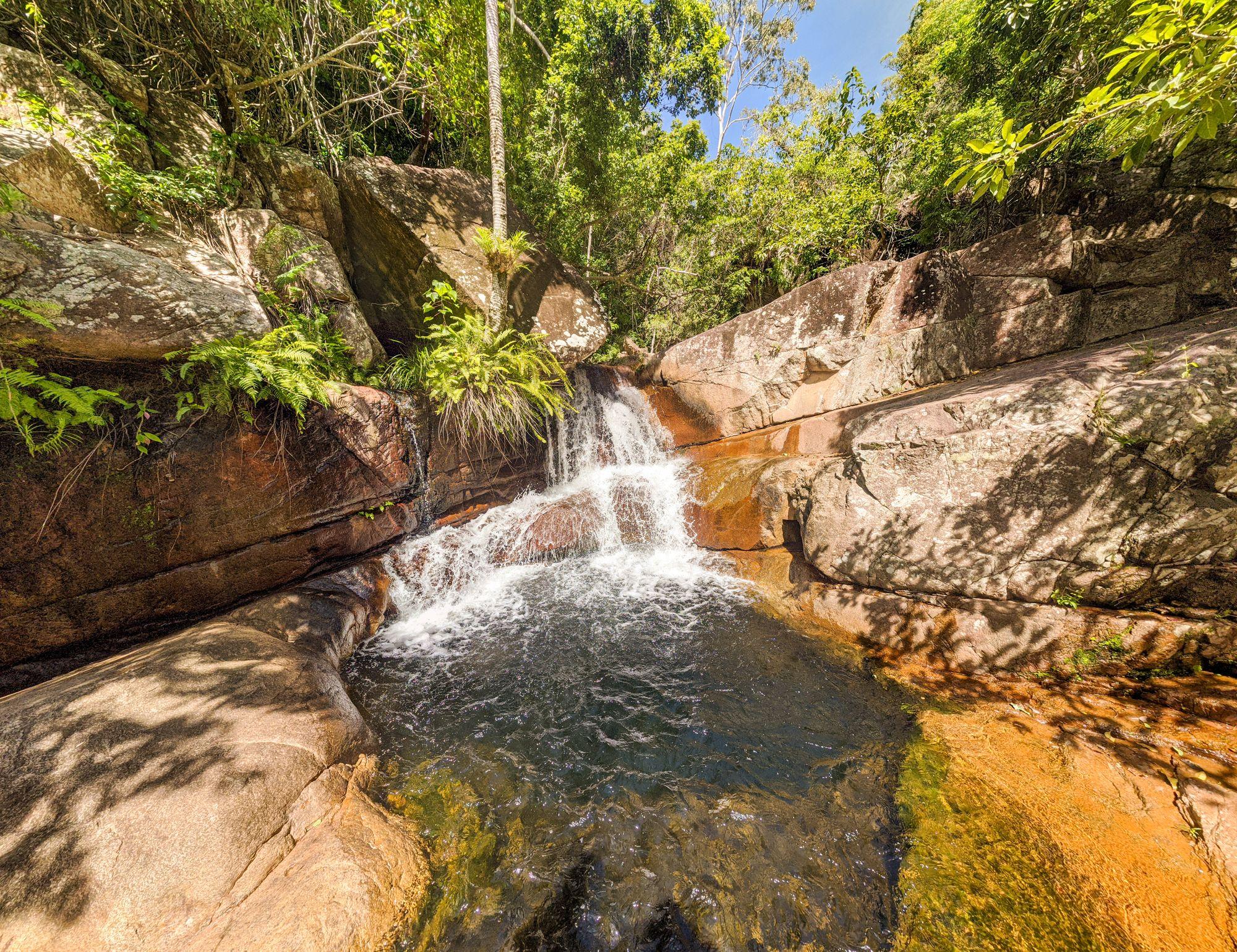 waterhole cascades