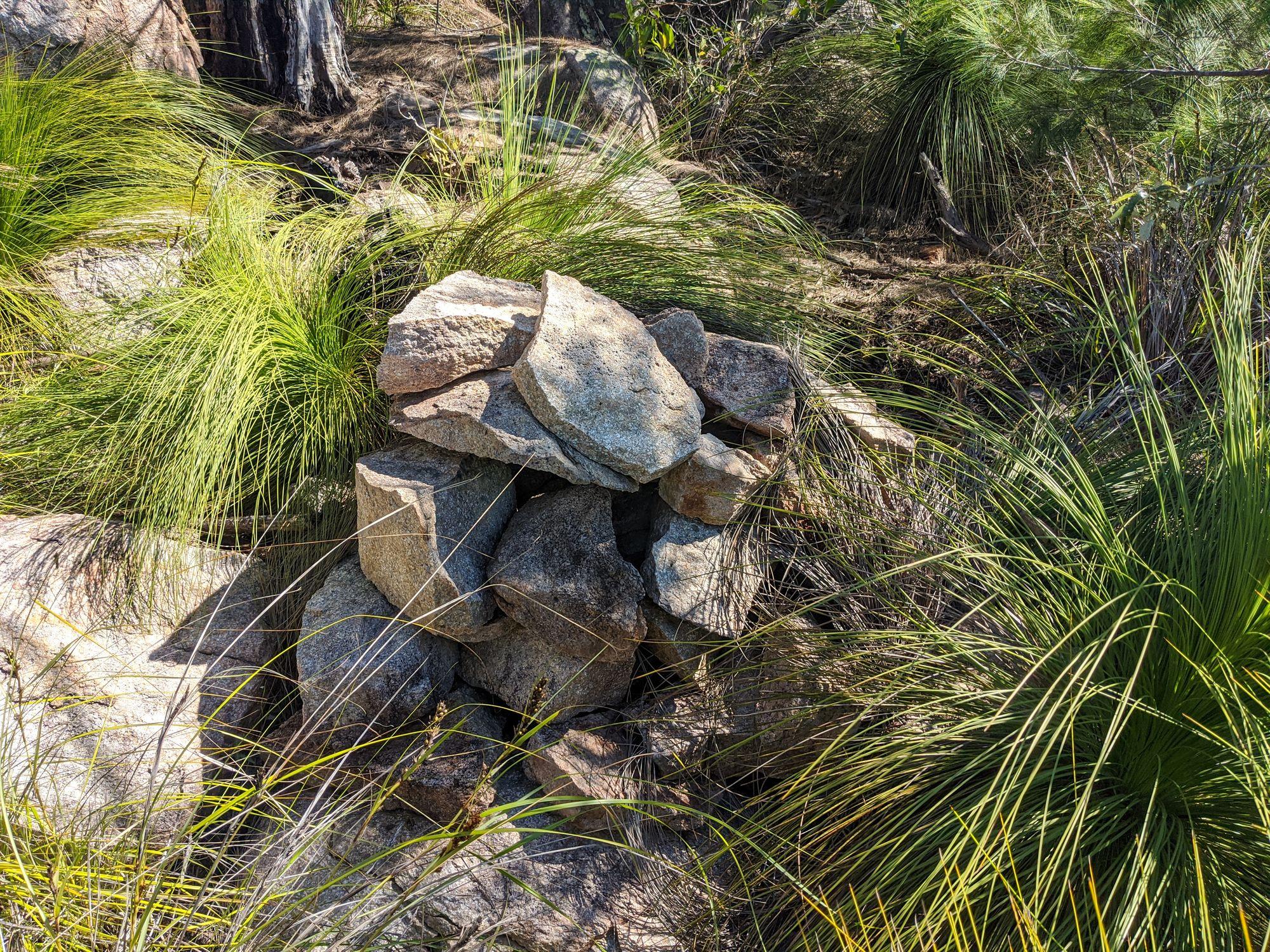 mt paluma magnetic island rock cairn