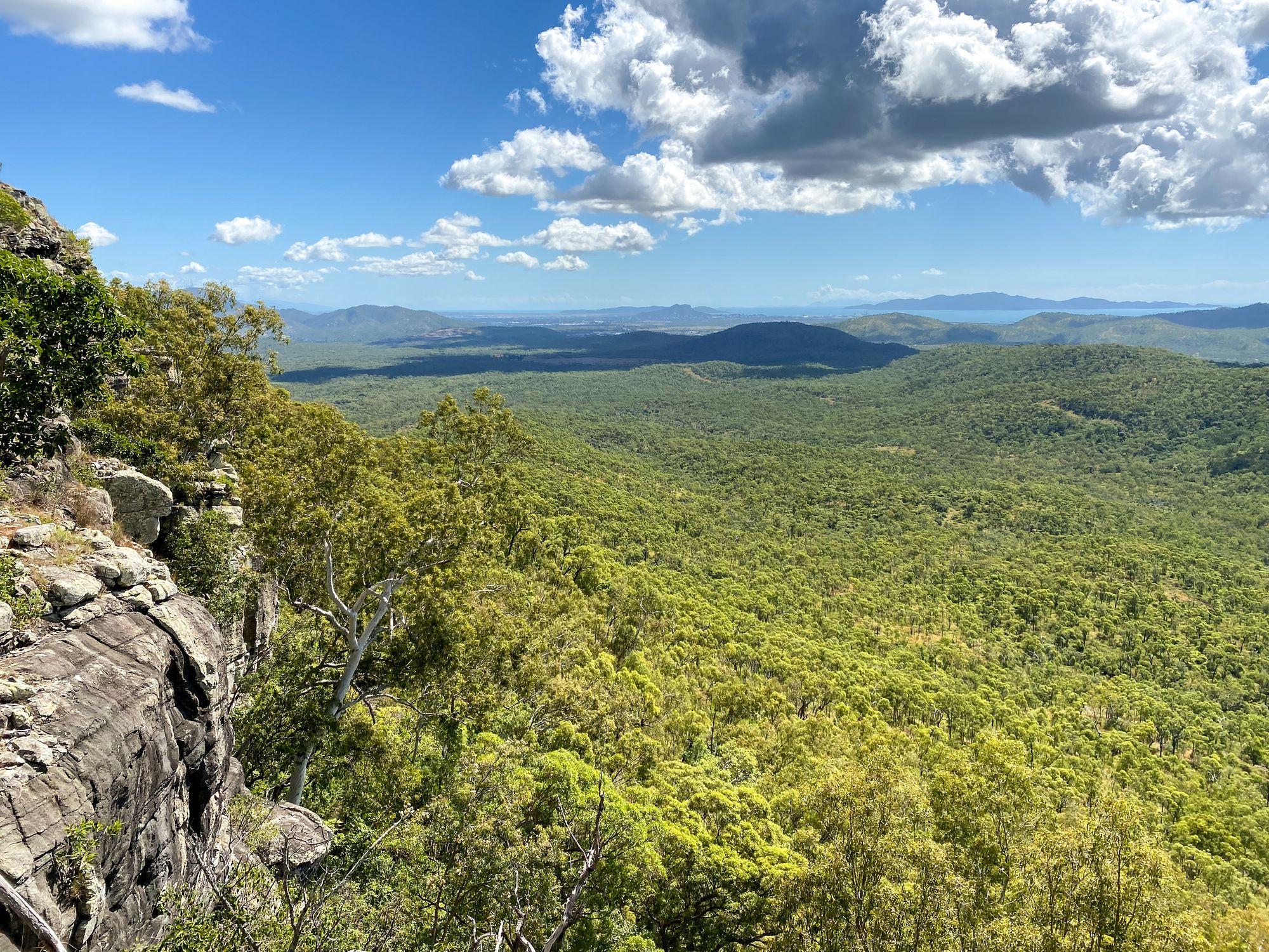 sister mountains saddle views
