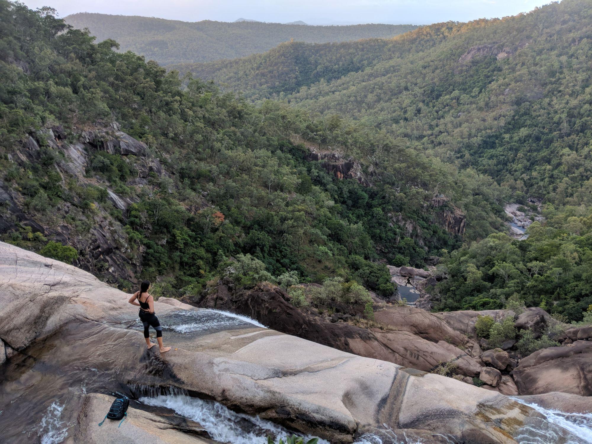 top of jourama falls