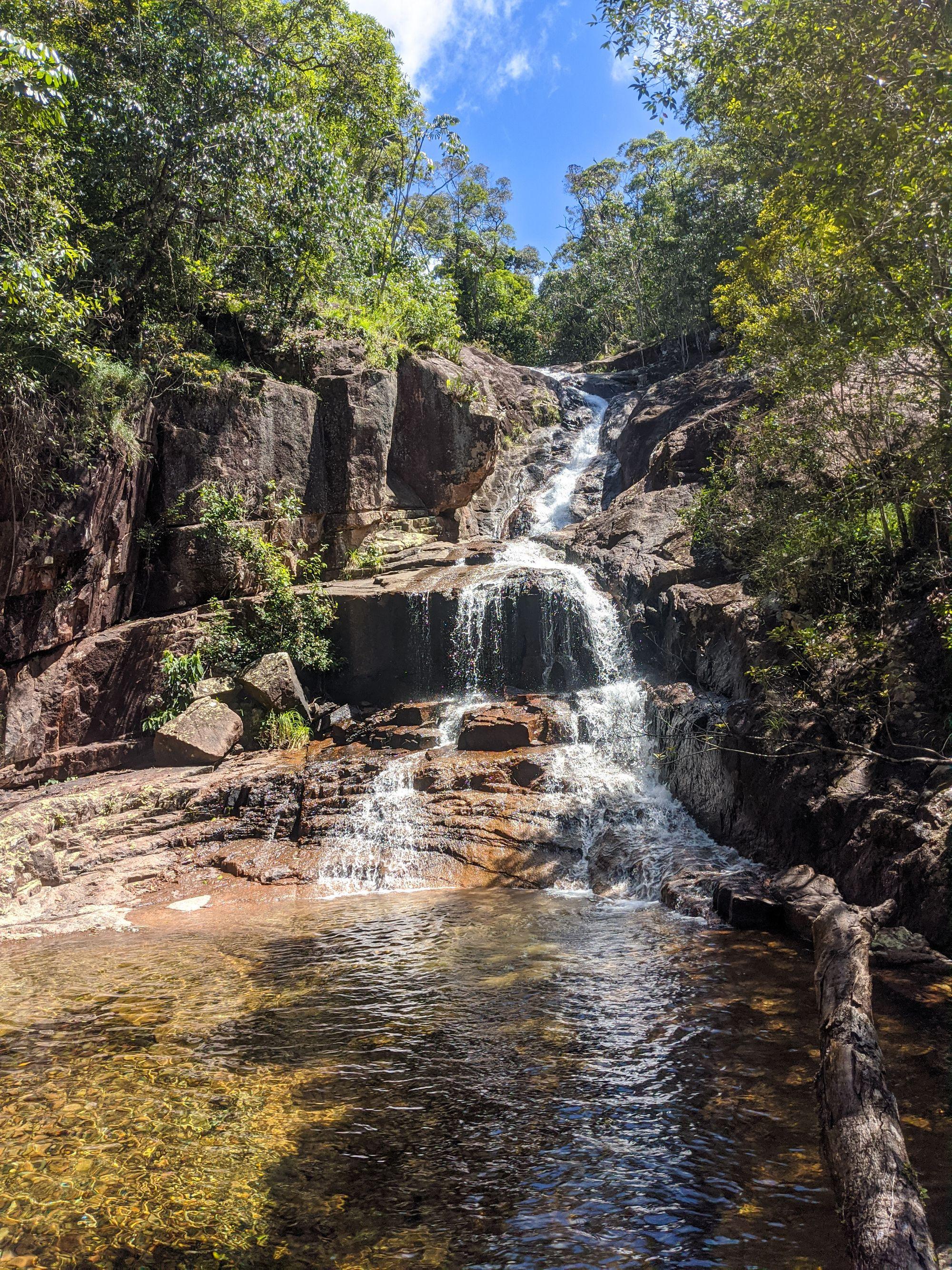 upper bullocky toms creek cascades falls