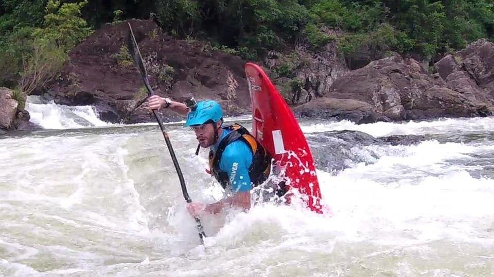 whitewater kayaking Brendan Moore